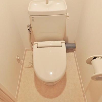 トイレもいたってシンプル。