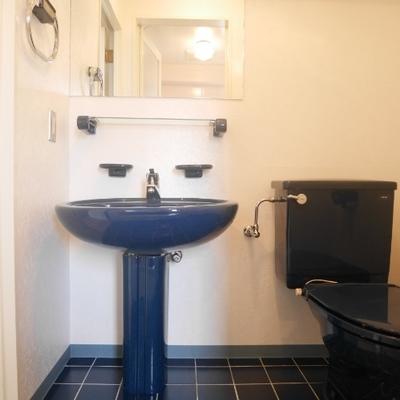 広々の洗面所
