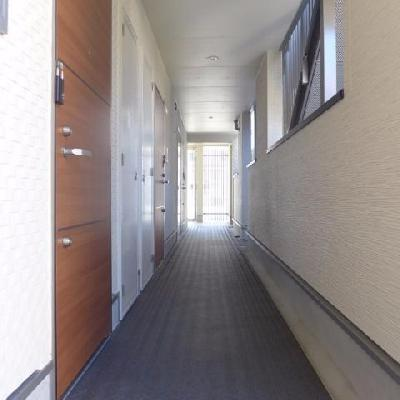 廊下部分※写真は別部屋です