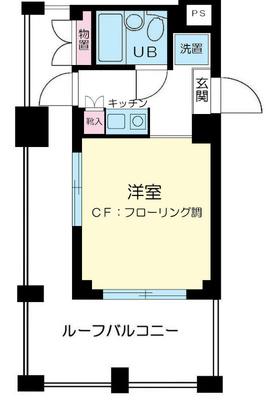 武蔵新城9分マンション の間取り