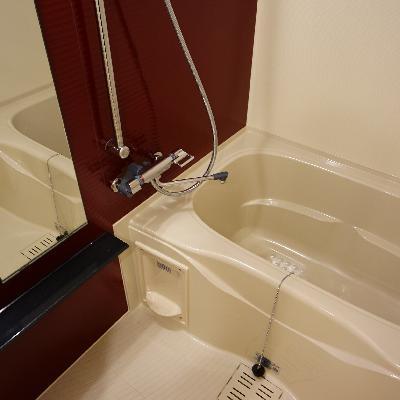 お風呂は乾燥機ついてます!