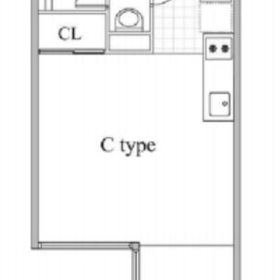 L字の洋室