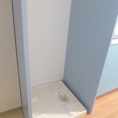 こちらに洗濯機