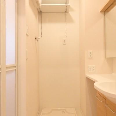 洗濯機置き場もあります