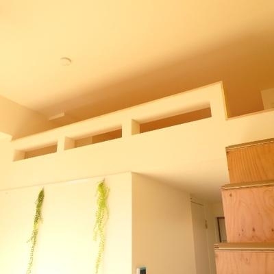 登りやすい階段で、デザインも可愛い