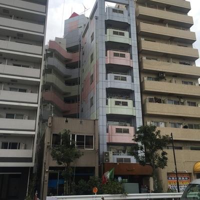 3階のピンクの部分です。