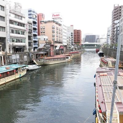 近くには隅田川です