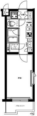 ルーブル新宿西落合八番館 の間取り