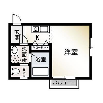 藤沢本町7分アパート の間取り
