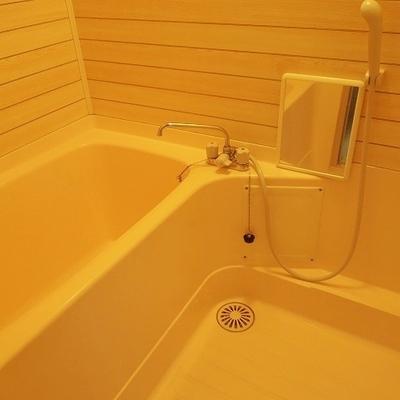 お風呂はちょっと雰囲気違う・・・*写真は別のお部屋です
