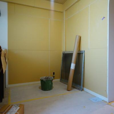 キッチンは4帖の空間が♪※写真は工事中