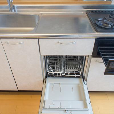 2口コンロ・グリル・食洗機!嬉しい設備♪