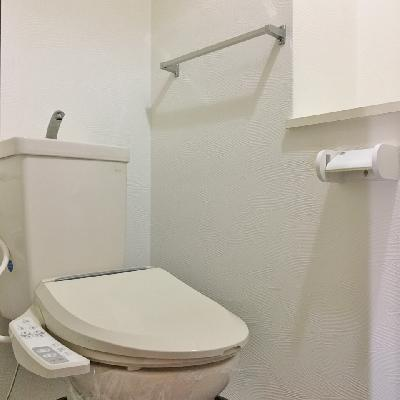 トイレはふつう。