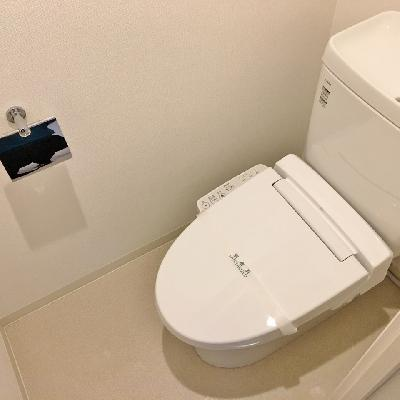 トイレはふつうかな。