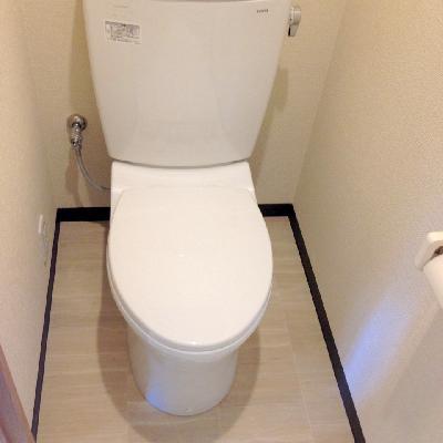 トイレもシンプルに。