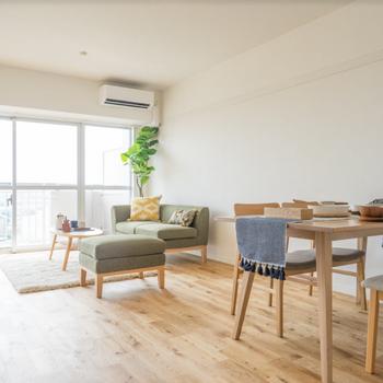 【家具イメージ】15帖の贅沢リビングに恋してほしい。