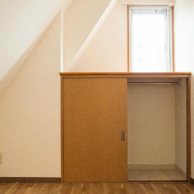 寝室の収納がこちら
