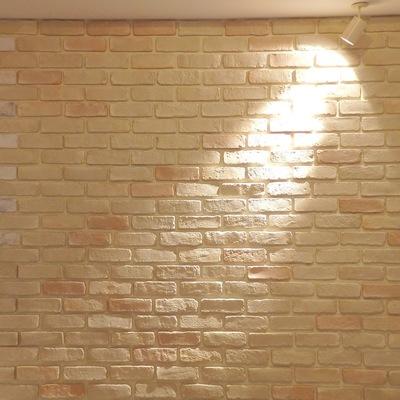 レンガの壁がめちゃおしゃれ!