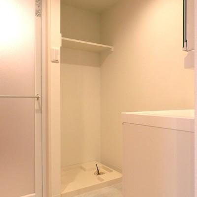 洗面所、洗濯機置き場もあります