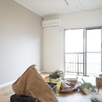 【工事中】明るい居室になりますね◎