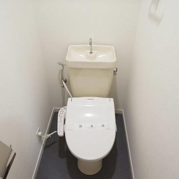 トイレも新品ウォシュレット付き
