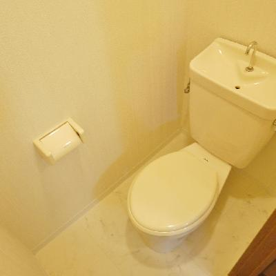 トイレもシンプルですね!