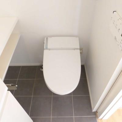 トイレと同じ空間です