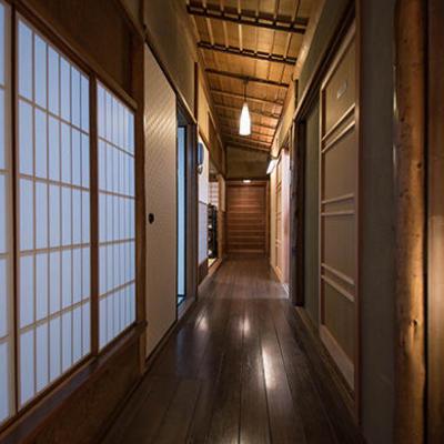 廊下も町屋の雰囲気たっぷり。