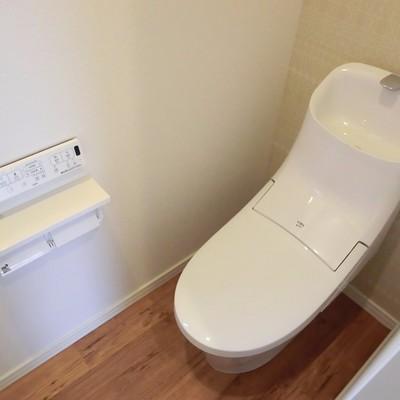 進化し続けるトイレ。
