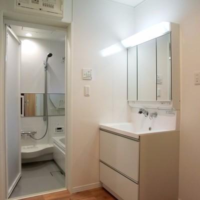 ひろい洗面所