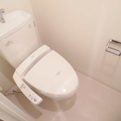 1階にトイレ