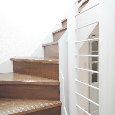 階段を上ると・・・