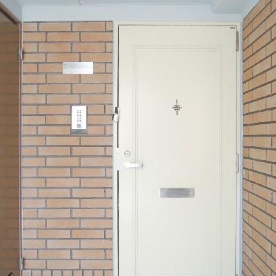 「おかえり」って言われているような玄関。