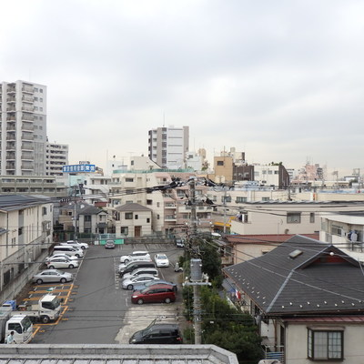 眺めが良い〜!!