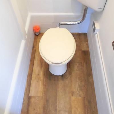 トイレはレトロ