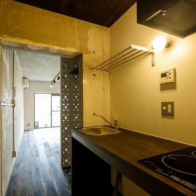 キッチンもデザインの統一感