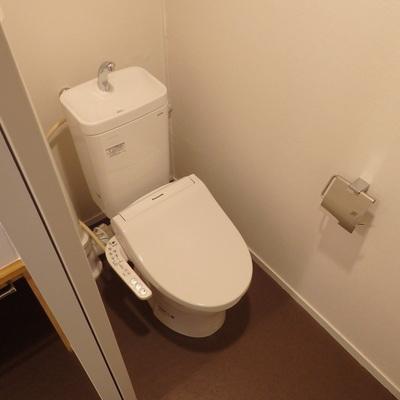 トイレも綺麗になりました