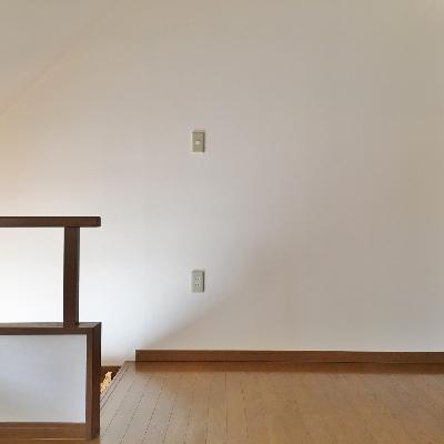 でも、上がってしまえば、どっしりとしたお部屋が広がっています。