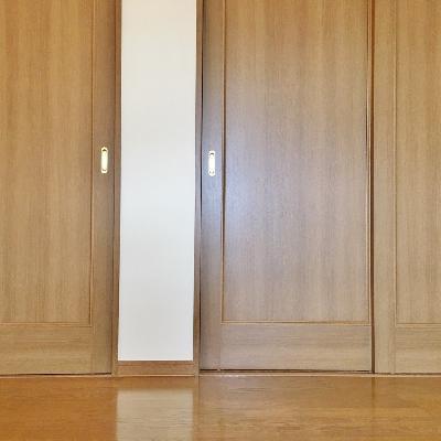 クローゼットは2階。