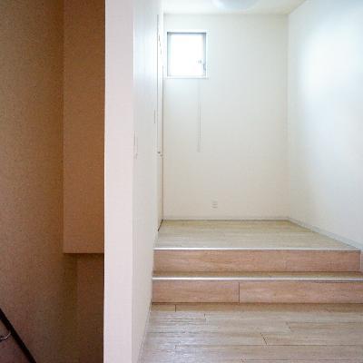 3階に上がりましょう!