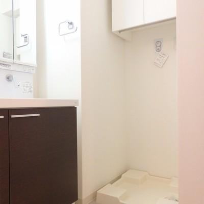 こちらは洗濯機置き場です