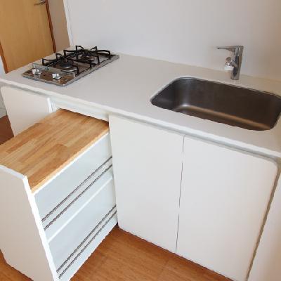 システム収納キッチン!