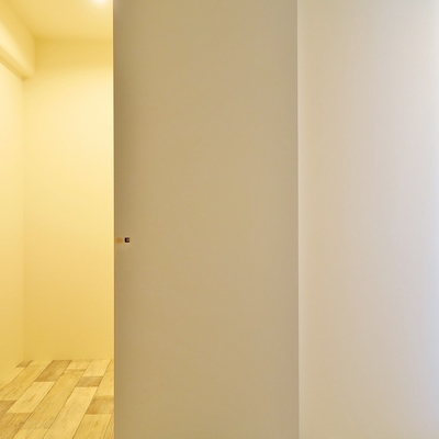 もうひとつのお部屋にもウォークインクローゼットはこちら。
