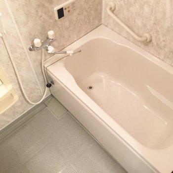 お風呂はちょっぴりゆったり。