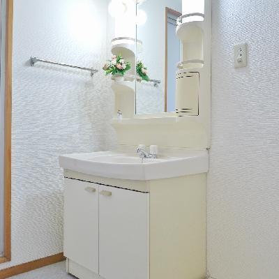 ここが洗面台です。