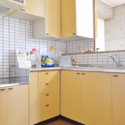 L型キッチンでお料理♪