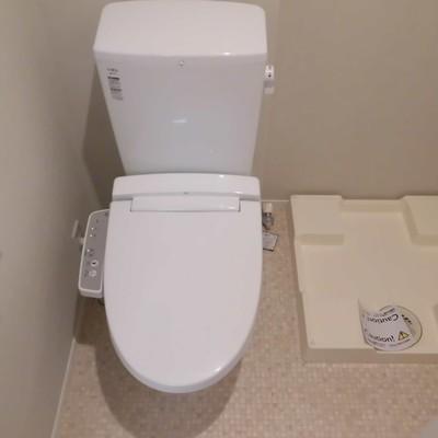 洗濯機がお隣です