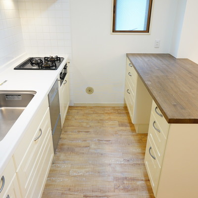 キッチンが豪華設備!