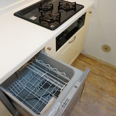 食器洗い機も内臓!