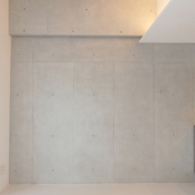 壁は一面コンクリです(写真は別タイプ)